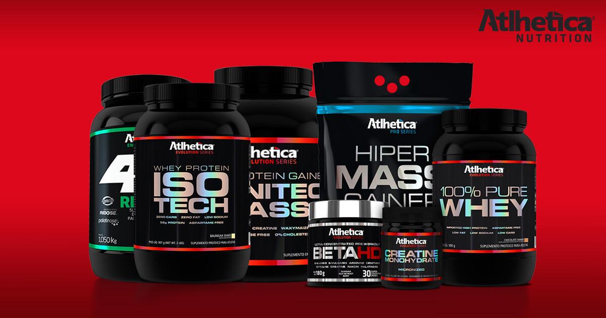 Atlhetica Nutrition Suplementos SP