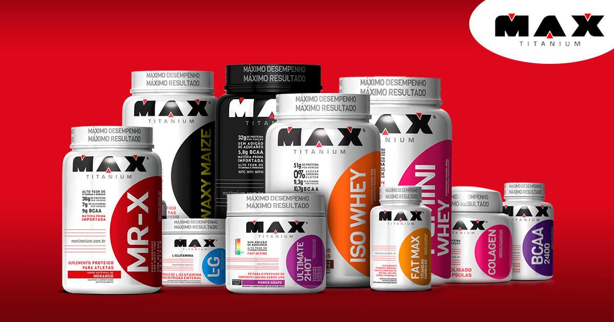 Max Titanium Suplementos SP