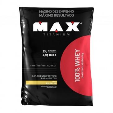100% Whey BAUNILHA (2kg) – Max Titanium