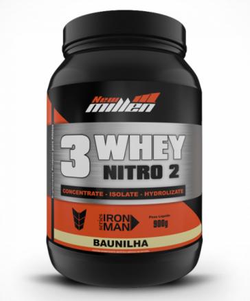3W Nitro2 (900g) BAUNILHA – New Millen