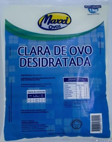 Albumina (1kg) NATURAL – Maxxi Ovos