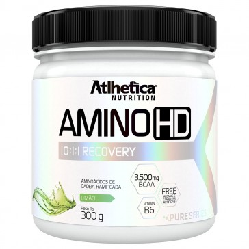 Amino HD 10:1:1 (300g) LIMÃO - Atlhetica Nutrition