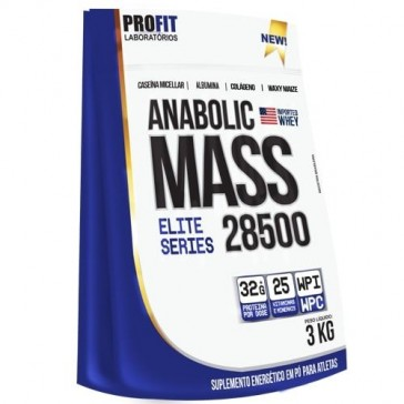 Anabolic Mass 28500 (3kg) MORANGO – Profit
