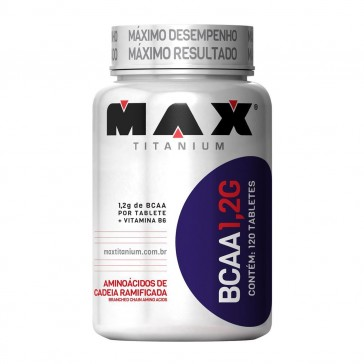 BCAA 1,2G (120 tabs) – Max Titanium
