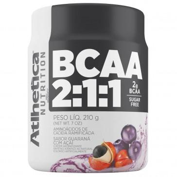 BCAA 2:1:1 SUGAR FREE (210g) GUARANÁ C/ AÇAÍ – Atlhetica Nutrition