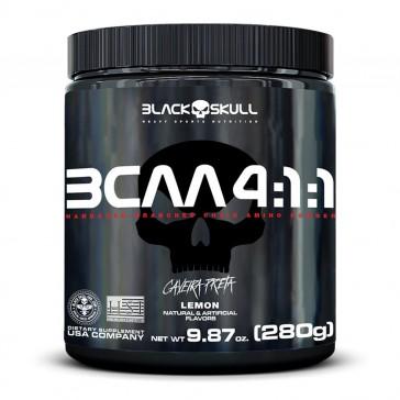BCAA 4:1:1 (280g) LIMÃO – Black Skull