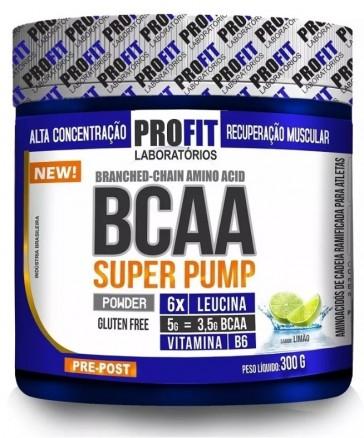 BCAA Super Pump (300g) LIMÃO – Profit