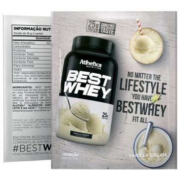 Best Whey Sache (Avulso) BAUNILHA – Atlhetica Nutrition