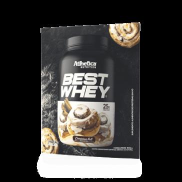 Best Whey Sache (Avulso) CINNAMON ROLL – Atlhetica Nutrition
