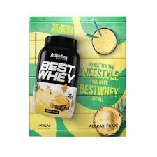 Best Whey Sache (Avulso) FRAPÊ DE ABACAXI – Atlhetica Nutrition