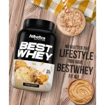 Best Whey Sache (Avulso) PASTA DE AMENDOIM – Atlhetica Nutrition