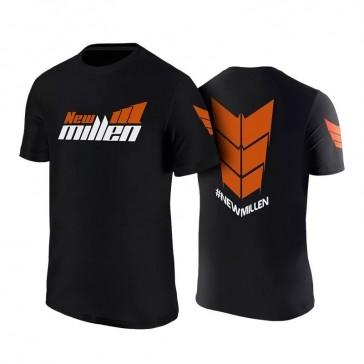 Camiseta New Millen P, PRETA
