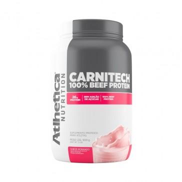 Carnitech Beef Protein (900g) MORANGO – Atlhetica Nutrition