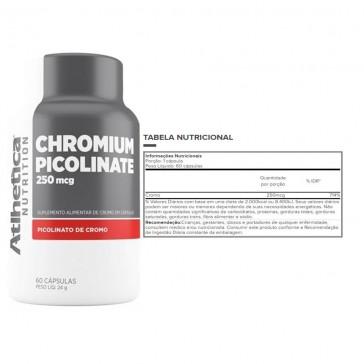 Chromium Picolinate (60 Cápsulas) 250 mcg – Atlhetica Nutrition