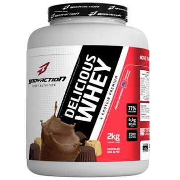 Delicious Whey (2kg) CHOCOLATE DOS ALPES – Body Action