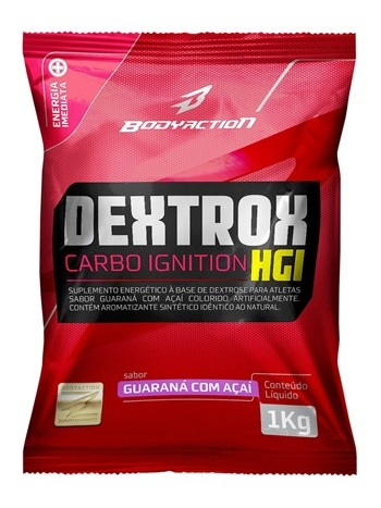Dextrox GUARANÁ C/ AÇAÍ (1Kg) - Body Action