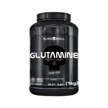 GLUTAMINE (1kg) CAVEIRA PRETA – Black Skull