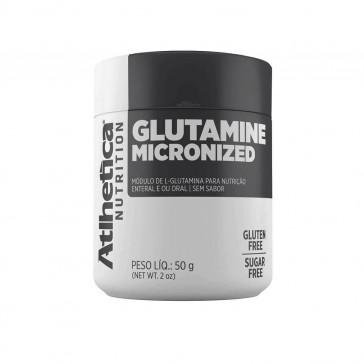 Glutamine Micronized (50g) NATURAL – Atlhetica Nutrition