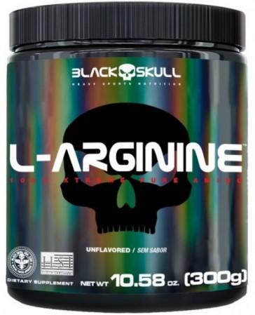 L-ARGININE (300g) UNFLAVORED – Black Skull