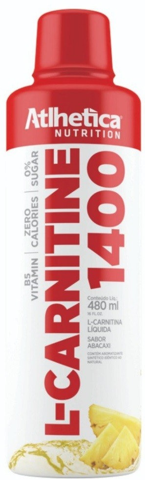 L-CARNITINE 1400 (480ml) ABACAXI – Atlhetica Nutrition