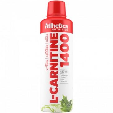 L-CARNITINE 1400 (480ml) CHÁ VERDE – Atlhetica Nutrition