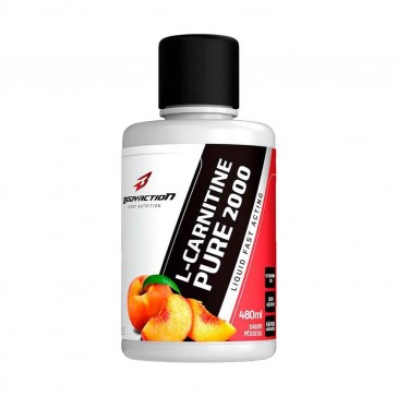 L-Carnitine Pure 2000 (480ml) PÊSSEGO – Body Action