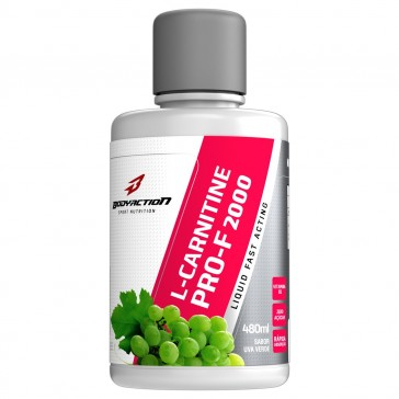 L-Carnitine Pure 2000 (480ml) UVA VERDE – Body Action