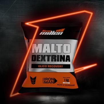 Maltodextrina (1kg) AÇAÍ C/ GUARANÁ – New Millen
