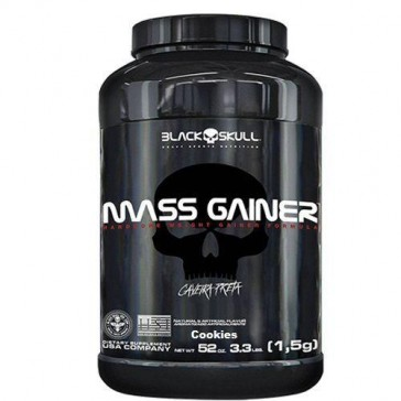 Mass Gainer (1,5kg) COOKIES & CREAM – Black Skull