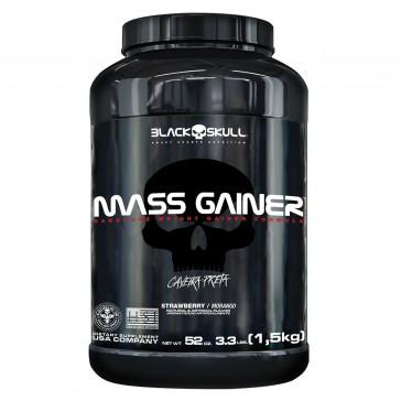 Mass Gainer (1,5kg) STRAWBERRY – Black Skull