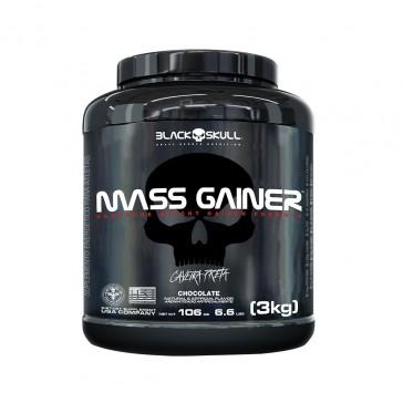 Mass Gainer (3kg) CHOCOLATE – Black Skull