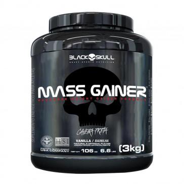 Mass Gainer (3kg) VANILLA – Black Skull