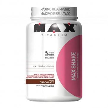 Max Shake (400g) CHOCOLATE – Max Titanium