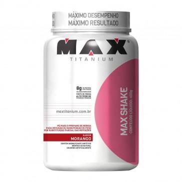 Max Shake (400g) MORANGO – Max Titanium