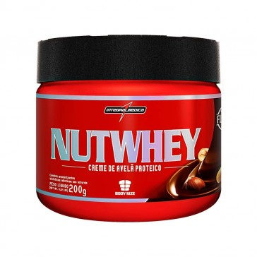 Nut Whey (200g) CREME DE AVELÃ PROTEICO – INTEGRALMEDICA