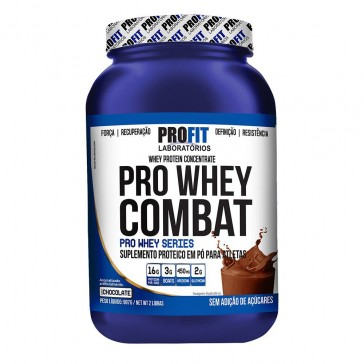 Pro Whey Combat (Pote) (907g) CHOCOLATE – Profit