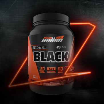 Protein Black (840g) MOUSSE DE CHOCOLATE – New Millen