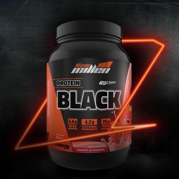Protein Black (840g) YOGURTE DE MORANGO – New Millen