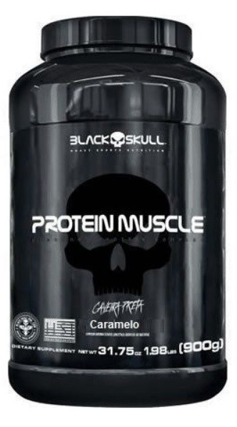 PROTEIN MUSCLE (900g) CARAMEL – Black Skull
