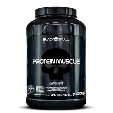 PROTEIN MUSCLE (900g) STRAWBERRY – Black Skull
