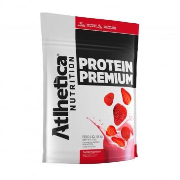 Protein Premium (1,8kg) MORANGO – Atlhetica Nutrition