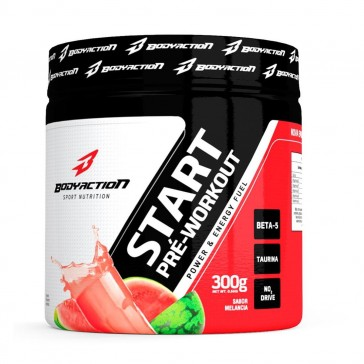 Start Pré-Workout (300g) MELANCIA – Body Action