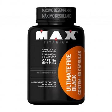 Ultimate Fire Black (60 caps) – Max Titanium