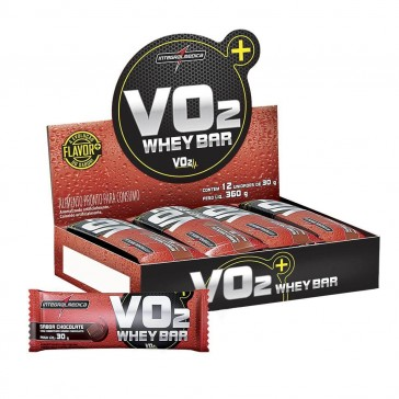 VO2 Whey Bar (360g 12 unid.) CHOCOLATE – INTEGRALMEDICA