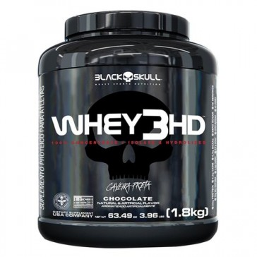 WHEY 3HD (1,8kg) CHOCOLATE – Black Skull
