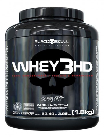 WHEY 3HD (1,8kg) VANILLA – Black Skull