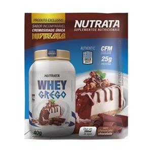 Whey Grego (40g) CHEESECAKE DE CHOCOLATE – Nutrata