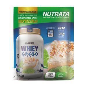 Whey Grego (40g) TORTA DE LIMÃO – Nutrata