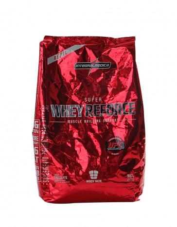 Super Whey Reforce Refil 907g MORANGO - IntegralMédica