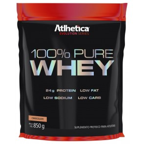 100% Pure Whey (850g) CHOCOLATE – Atlhetica Nutrition